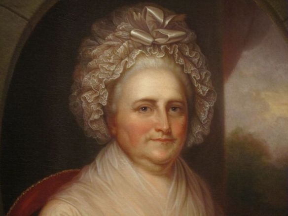 Martha Washington by Rembrandt Peale, National Portrait Gallery