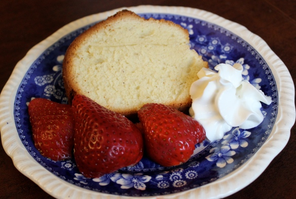 Hannah Glasse's pound cake