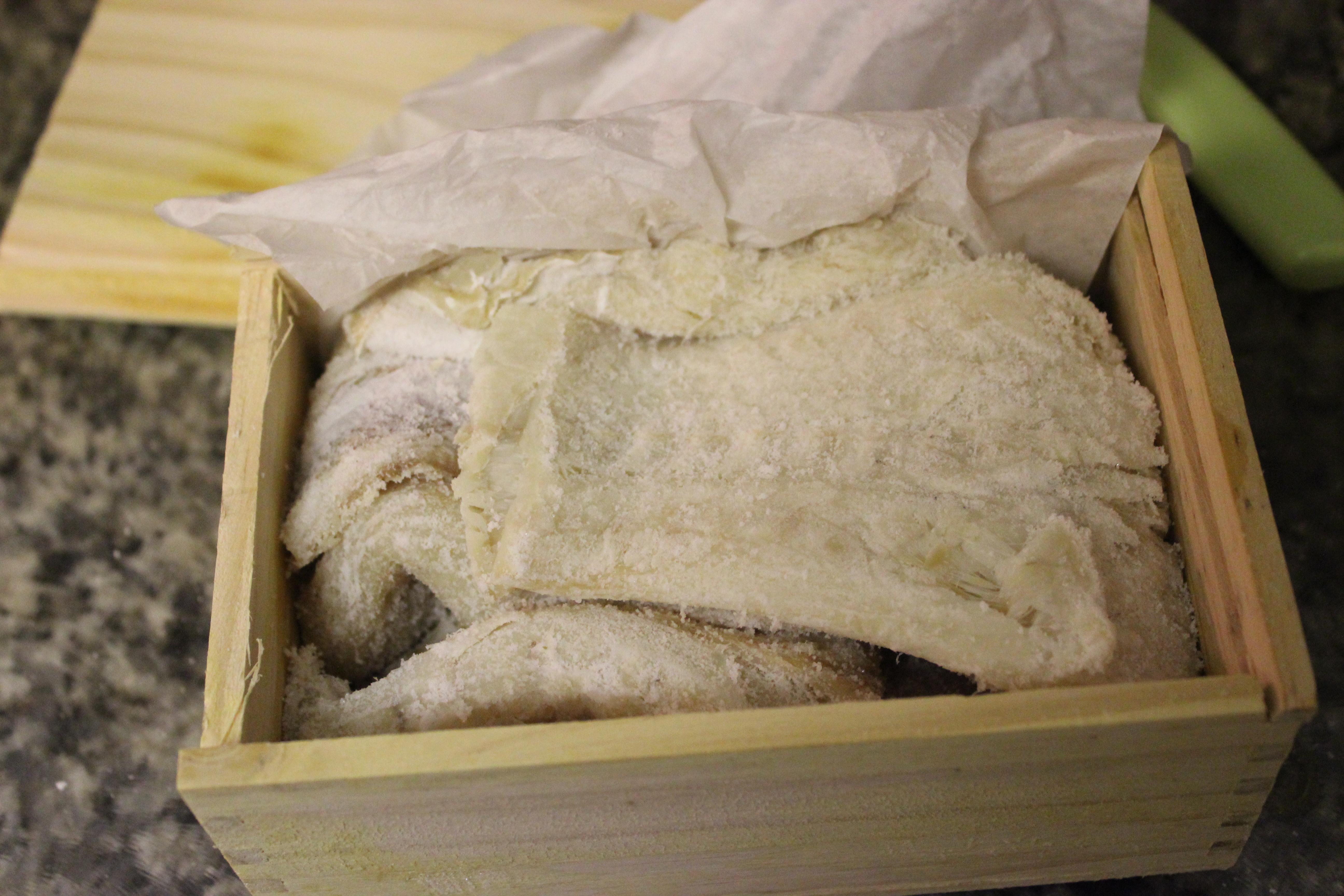 Salt cod revolutionary pie for Dried salted fish