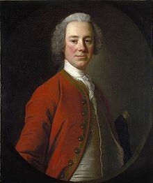 John Campbell Loudoun, portrait by Allan Ramsay, circa 1750