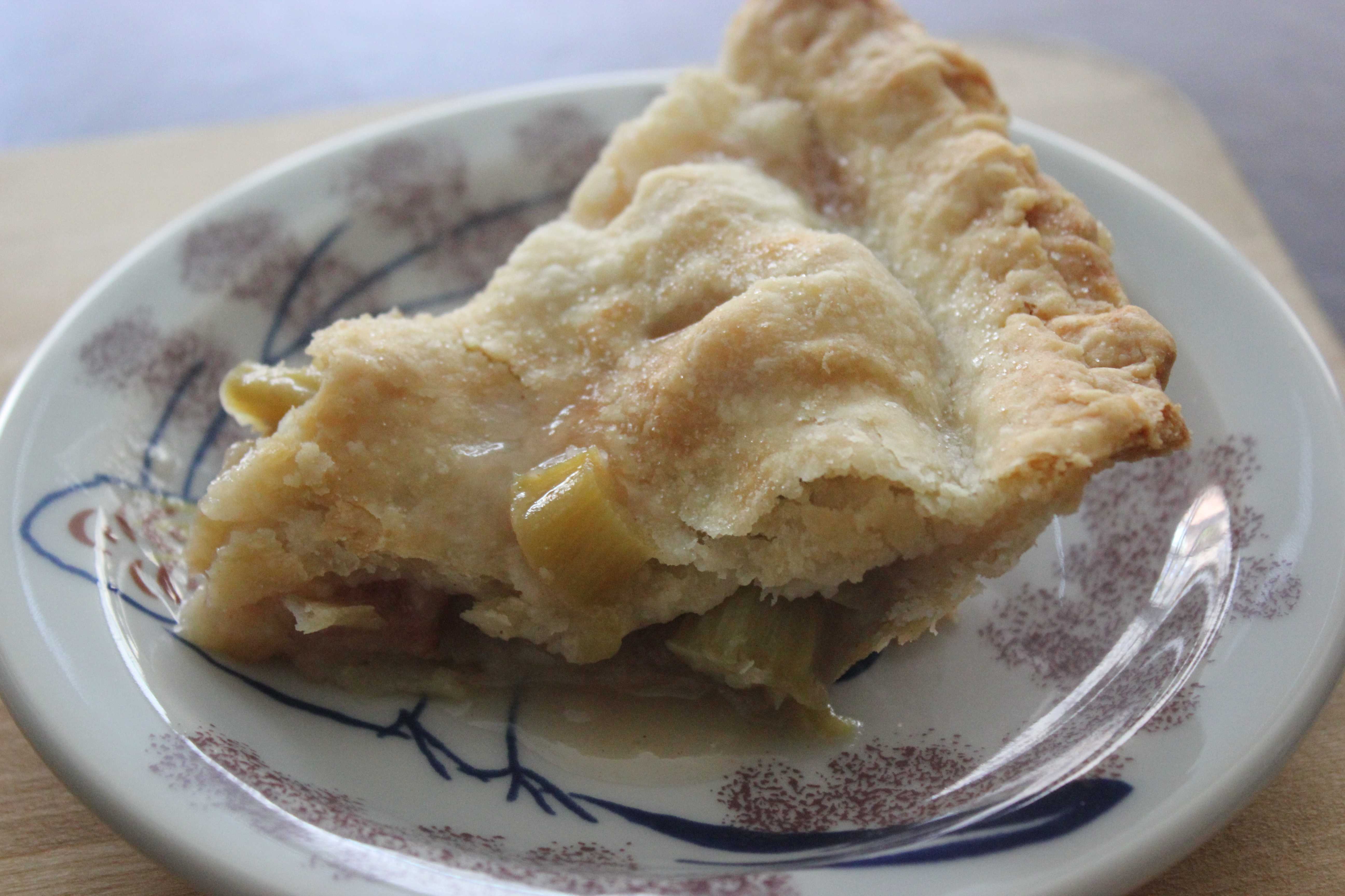Rhubarb Pie | Revolutionary Pie