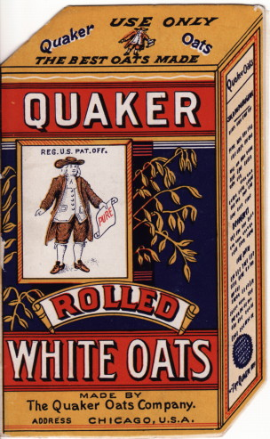 Quaker Rolled White Oats