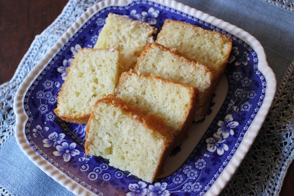 Emily Dickinson's  coconut cake